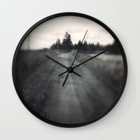 The Road to the Beach Wall Clock