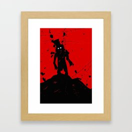 Still Hungry, Still Not Clean Framed Art Print