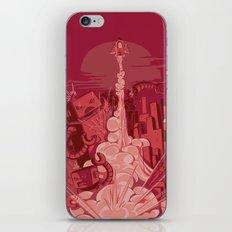 Smash! Zap!! Zoom!!! iPhone & iPod Skin