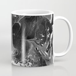 // MARBLED BLACK // Coffee Mug