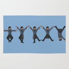 Dancing Sherlock Rug