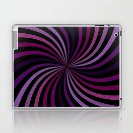 Purple Magenta Hypnotizing Swirl Laptop & iPad Skin
