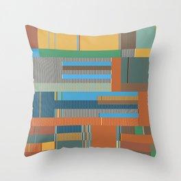 Scandinavian Moon (Nature Trail Colours) Throw Pillow
