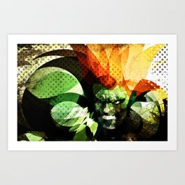 Blanka Art Print