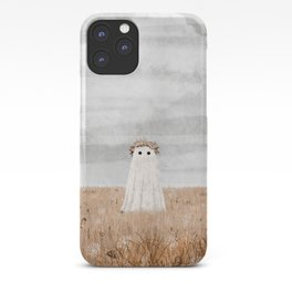 There's a Ghost in the Meadow iPhone Case