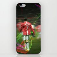 ronaldo iPhone & iPod Skins featuring Ronaldo Remix by Shyam13