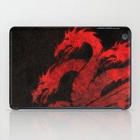 dragons iPad Cases featuring Dragons by Narwen