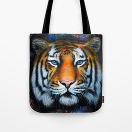 Tiger of Hosier Lane Tote Bag