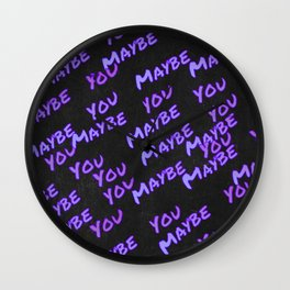 Maybe you are the next Wall Clock