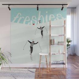 Ski Freshies Wall Mural