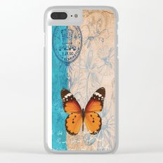 More Butterflies Clear iPhone Case
