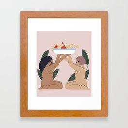 pasta Framed Art Print