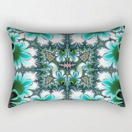 Fractal Rectangle Rectangular Pillow
