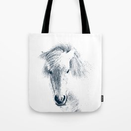Cute Ponyface Tote Bag