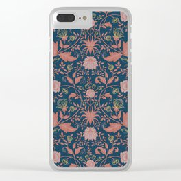 William Morris Clear iPhone Case