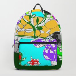 Jacaranda  time in Queensland, AUSTRALIA      by Kay Lipton Backpack