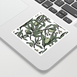 Olives pattern Sticker