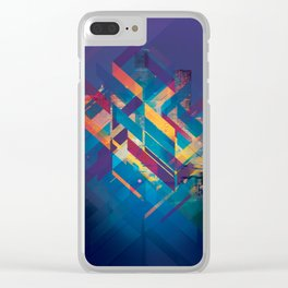 City Sound Clear iPhone Case