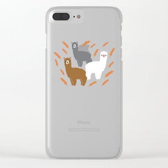 The Alpacas Clear iPhone Case