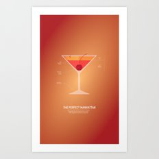 The Perfect Manhattan Art Print