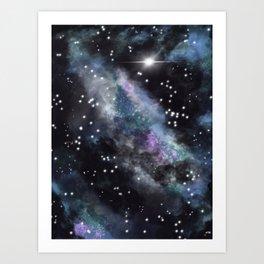 Galaxy (version 2) Art Print