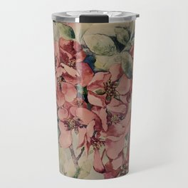 Flowering Japanese quince 2 Travel Mug