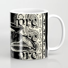 Dapper Raven Nevermore Coffee Mug