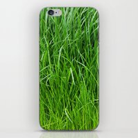 grass iPhone & iPod Skins featuring grass by Кaterina Кalinich