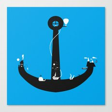 Adventure Is My Anchor Canvas Print