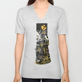 Hell-bent - the persistence of a dragon Unisex V-Neck