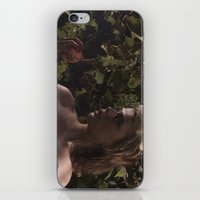 in the flesh iPhone & iPod Skins featuring Forbidden Flesh by Andre Portee (Rosewood Film)