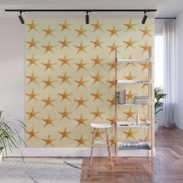 Starfish pattern. Wall Mural