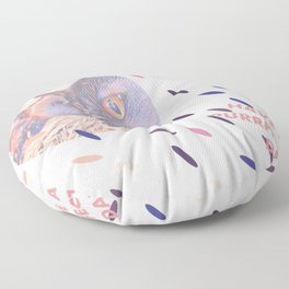 have a purrfect day (with cats) Floor Pillow