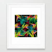 palm trees Framed Art Prints featuring Palm Trees by mark ashkenazi