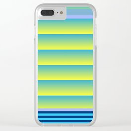 Gradient Fades v.3 Clear iPhone Case