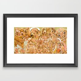 Strange Treep Framed Art Print