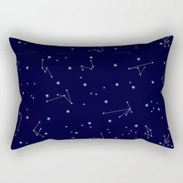 Astres / Stars / Luminary / Night Sky / Stars starry sky Rectangular Pillow