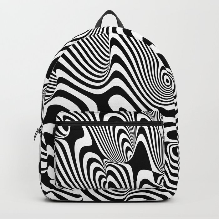 Trippy Background Backpack