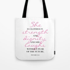 The beauty of a woman Tote Bag