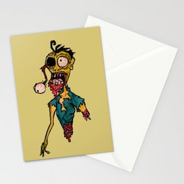 Scary Bloody Zombie Stationery Cards