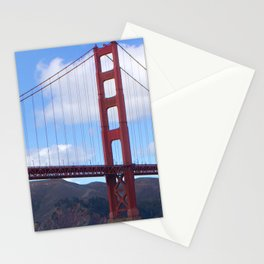 Golden Gate Bridge San Francisco Ca Stationery Cards