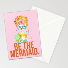 pink lemonade -- be the mermaid. Stationery Cards