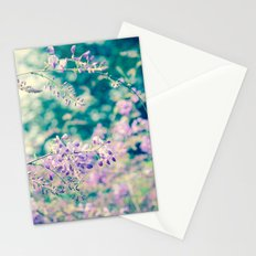 Bloom in Purple Stationery Cards