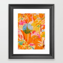 focal  Framed Art Print