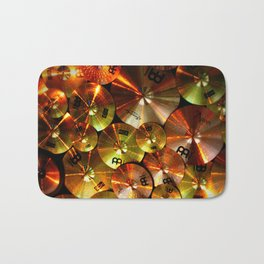 Cymbals fine art photography Bath Mat