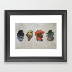A Tribute To Stanley Kubrick Framed Art Print