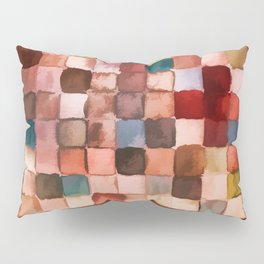 Colorful gift - Geometric watercolor Pillow Sham