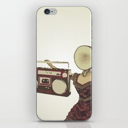 Neutral Milk Boombox iPhone Skin