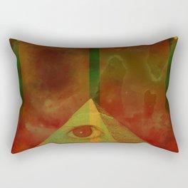 Baphomet VI Rectangular Pillow