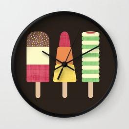 I Scream, You Scream, We All Scream For Ice cream Wall Clock